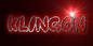 Font Poo Klingon Logo Preview