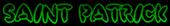 Font Poo Saint Patrick Logo Preview
