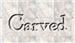 Font Powell Antique Carved Logo Preview