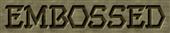 Embossed Logo Style
