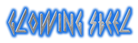 Glowing Steel Logo Style