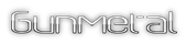 Gunmetal Logo Style
