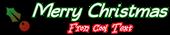 Font Qarmic sans Christmas Symbol Logo Preview