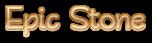 Font Qarmic sans Epic Stone Logo Preview