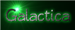 Font Qarmic sans Galactica Logo Preview