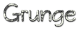 Font Qarmic sans Grunge Logo Preview