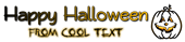 Font Qarmic sans Halloween Symbol Logo Preview