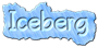 Font Qarmic sans Iceberg Logo Preview