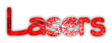 Font Qarmic sans Lasers Logo Preview