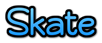 Font Qarmic sans Skate Logo Preview
