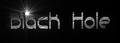 Font Quacksalver Black Hole Logo Preview