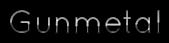 Font Quicksand Gunmetal Logo Preview