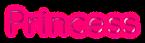 Font Quicksand Princess Logo Preview
