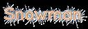 Font Quicksand Snowman Logo Preview
