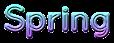 Font Quicksand Spring Logo Preview