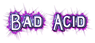 Font README Bad Acid Logo Preview