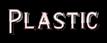 Font README Plastic Logo Preview