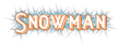 Font README Snowman Logo Preview