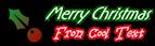 Font RX Christmas Symbol Logo Preview