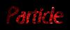 Font RX Particle Logo Preview