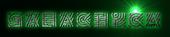 Font Radio Galactica Logo Preview