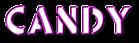 Font Rafika Candy Logo Preview
