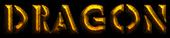 Font Rafika Dragon Logo Preview