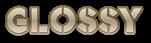 Font Rafika Glossy Logo Preview