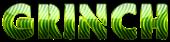 Font Rafika Grinch Logo Preview