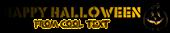Font Rafika Halloween Symbol Logo Preview