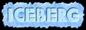 Font Rafika Iceberg Logo Preview