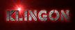 Font Rafika Klingon Logo Preview