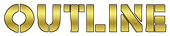 Font Rafika Outline Logo Preview