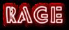 Font Rafika Rage Logo Preview