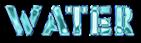Font Rafika Water Logo Preview