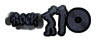 Font Rockstar 2.0 Dark Logo Preview