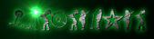 Font Rockstar 2.0 Galactica Logo Preview