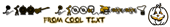Font Rockstar 2.0 Halloween Symbol Logo Preview