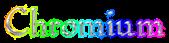 Font Romeo Chromium Logo Preview