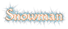 Font Romeo Snowman Logo Preview