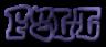 Font RoteFlora Felt Logo Preview