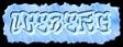 Font RoteFlora Iceberg Logo Preview