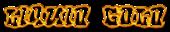 Font RoteFlora Liquid Gold Logo Preview