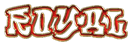 Font RoteFlora Royal Logo Preview