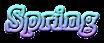 Spring Logo Style