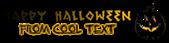 Font Ruinik Halloween Symbol Logo Preview