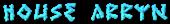 Font Ruinik House Arryn Logo Preview