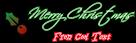 Font Scriptina Christmas Symbol Logo Preview