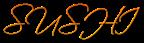 Font Scriptina Sushi Logo Preview