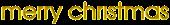 Merry Christmas Logo Style